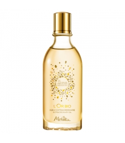 Huile extraordinaire visage, corps & cheveux BIO 5 huiles précieuses - 50ml - Melvita L'Or Bio