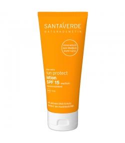 BIO-Sonnenlotion für Gesicht & Körper LSF 15 Aloe Vera & Jojoba - 100ml - Santaverde