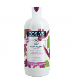 Shampooing volume BIO protéines de riz & amarante - 500ml - Coslys