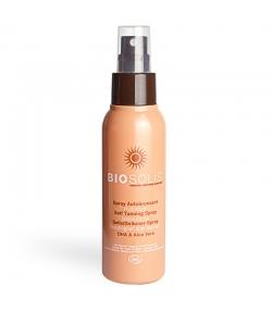 Feuchtigkeitspendendes BIO-Selbstbräuner Spray für Gesicht & Körper DHA & Aloe Vera - 100ml - Biosolis