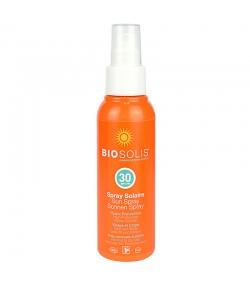 Spray solaire visage & corps BIO IP 30 colza & karanja - 100ml - Biosolis