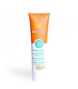 Crème solaire visage & cou BIO IP 30 aloe vera & karanja - 15ml - Biosolis