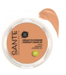 "Fond de teint compact ""Cream to Powder"" BIO N°03 Cool Beige - 9g - Sante"
