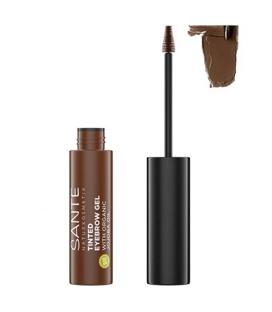 Gel à sourcils BIO N°02 Brownie - 3,5ml - Sante