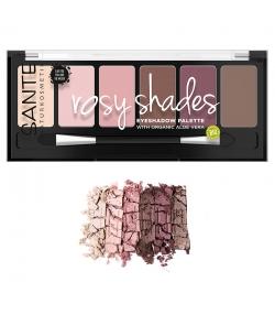 Palette ombres à paupières BIO N°02 Rosy Shades BIO - 6x1g - Sante