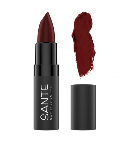 BIO-Lippenstift matt N°08 Sunset Cherry - 4,5g - Sante