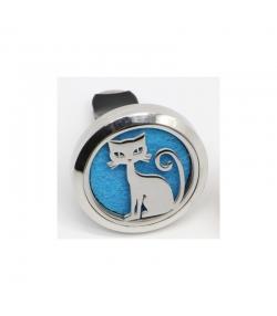 Diffuseur pour voiture d'huile essentielle Cliparôme chat - Zen Arôme