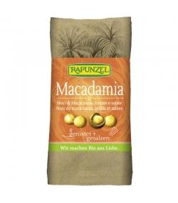 Noix de macadamia grillées & salées BIO - 50g - Rapunzel