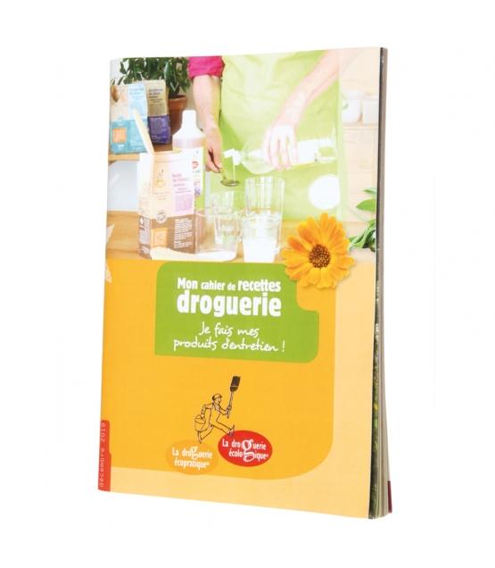 Drogerie-Rezeptheft für die Herstellung von Haushaltsreinigern - 1 Stück - La droguerie écologique