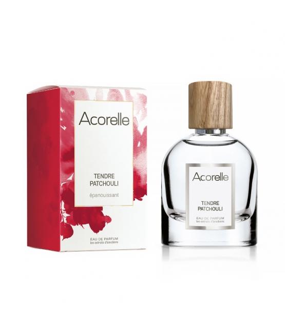 Eau de parfum épanouissante BIO Tendre Patchouli - 50ml - Acorelle