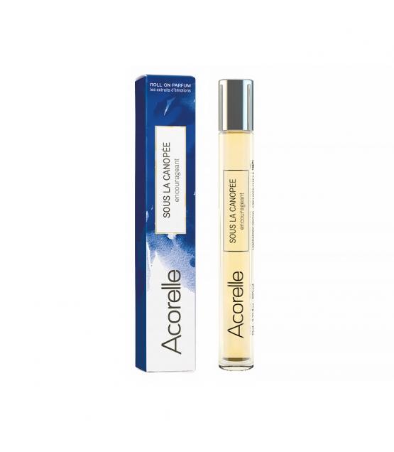 Parfum roll-on encourageant BIO Sous la canopée - 10ml - Acorelle