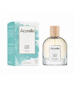 Eau de parfum relaxante BIO Lotus Blanc - 50ml - Acorelle