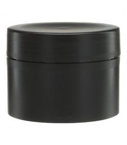 Schwarze Plastikdose 50ml mit schwarzem Schraubverschluss - 1 Stück - Potion & Co
