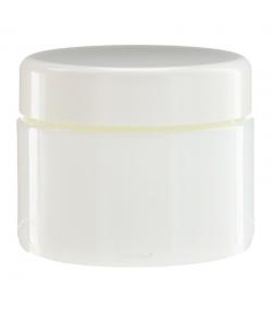 Pot en verre blanc 30ml avec couvercle à vis blanc - 1 pièce - Potion & Co