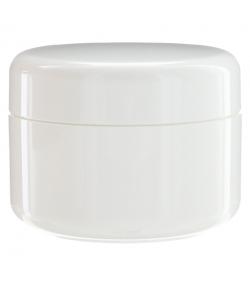 Pot en plastique blanc 200ml avec couvercle à vis blanc - 1 pièce - Potion & Co