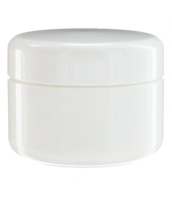 Pot en plastique blanc 5ml avec couvercle à vis blanc - 1 pièce - Potion & Co