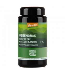 BIO-Weizengras Pulver -50g - NaturKraftWerke