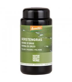 BIO-Gerstengras Pulver - 50g - NaturKraftWerke