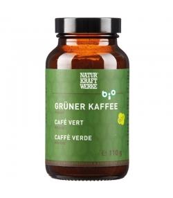 BIO-Grüner Kaffee Pulver - 110g - NaturKraftWerke