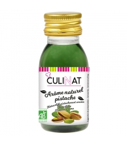 Arôme naturel de pistache BIO - 60ml - Culinat