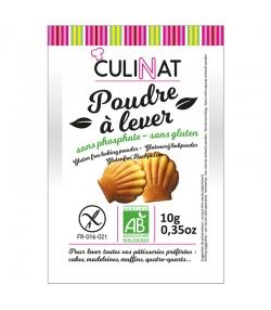 Poudre à lever BIO sans phosphate & sans gluten - 8x10g - Culinat