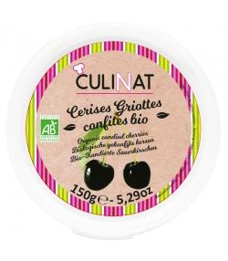 Cerises griottes confites BIO - 150g - Culinat