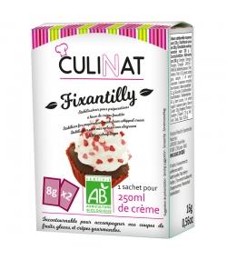 Fixantilly stabilisateur pour préparations à base crème fouettée BIO - 2x8g - Culinat