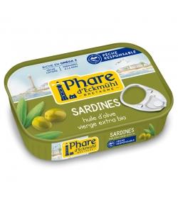 Sardines à l'huile d'olive BIO - 135g - Phare d'Eckmühl