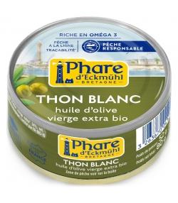 Thon blanc germon à l'huile d'olive BIO - 80g - Phare d'Eckmühl