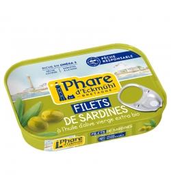 Sardinenfilets in BIO-Olivenöl - 100g - Phare d'Eckmühl
