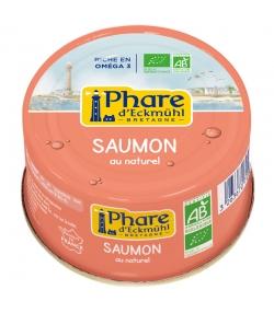 Saumon au naturel BIO - 132g - Phare d'Eckmühl