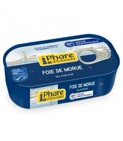 Foie de morue au naturel - 121g - Phare d'Eckmühl