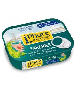 Sardinen mit Algentartar & BIO-Olivenöl - 135g - Phare d'Eckmühl