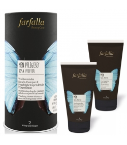 Coffret de soins homme BIO - Farfalla
