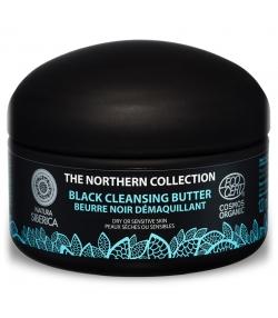 Beurre noir démaquillant BIO charbon & lin - 120ml - Natura Siberica
