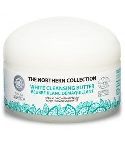 Beurre blanc démaquillant BIO argile blanche & lin - 120ml - Natura Siberica