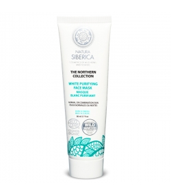 Masque blanc purifiant visage BIO argile blanche & sauge - 80ml - Natura Siberica