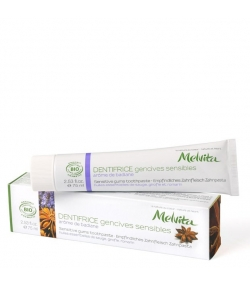 Dentifrice gencives sensibles BIO badiane - 75ml - Melvita