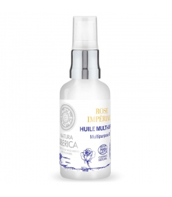 Huile multi-usage visage, corps & cheveux naturelle rose impériale & ylang-ylang - 30ml - Natura Siberica
