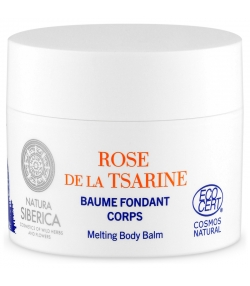 Baume fondant corps naturel rose de la tsarine & géranium - 200ml - Natura Siberica