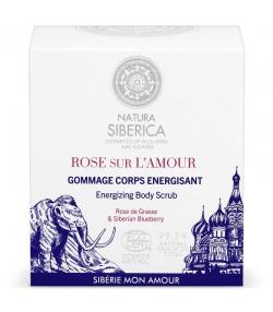 Gommage corps énergisant naturel rose sur l'amour & myrtille - 200ml - Natura Siberica