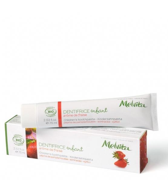 Dentifrice enfant BIO fraise - 75ml - Melvita
