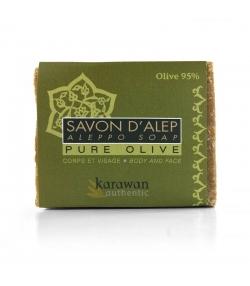Savon d'Alep pure naturel 95% huile d'olive - 200g - Karawan
