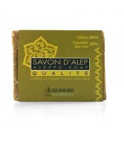 Savon d'Alep qualité naturel 20% huile de laurier - 200g - Karawan