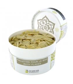 Paillettes de savon d'Alep pour le bain naturel olive & laurier - 100g - Karawan