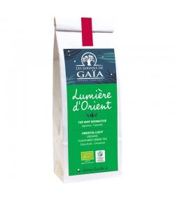 Lumière d'Orient thé vert aromatisé agrumes & cannelle BIO - 100g - Les Jardins de Gaïa