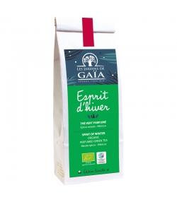 Esprit d'hiver thé vert parfumé épices masala & hibiscus BIO - 100g - Les Jardins de Gaïa
