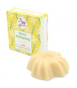 Après-shampooing solide BIO tous cheveux vanille - 74ml - Lamazuna