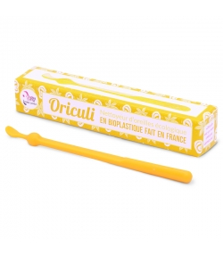 Oriculi jaune nettoyeur d'oreilles écologique en bioplastique - 1 pièce - Lamazuna