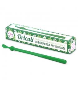 Oriculi vert nettoyeur d'oreilles écologique en bioplastique - 1 pièce - Lamazuna